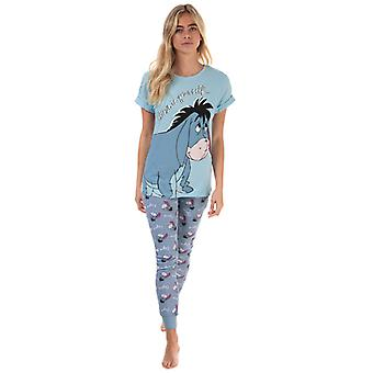 Women's Disney Eeyore Pyjamas in Blue