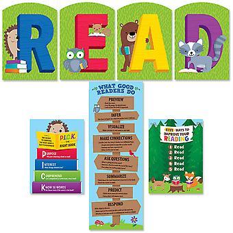 Woodland Friends Read Bulletin Board Set