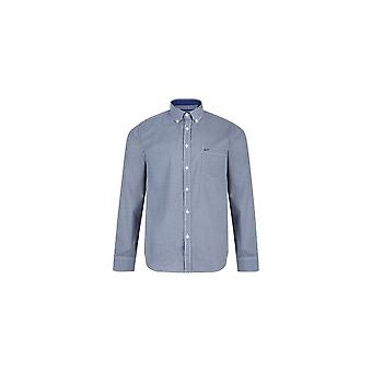 KAM Jeanswear Geo Print Long Sleeve Shirt