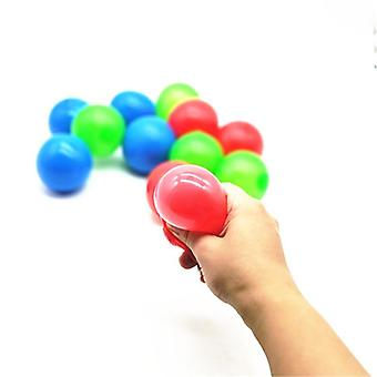 Stick Wall Ball Sticky Catch Throw Glob Novelty In Bx0d