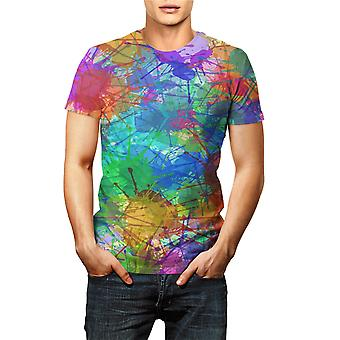 Summer Fashion Art Color Graffiti 3d T Shirts Kids Casual Men Women Printed
