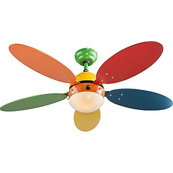 """Ceiling fan Wade I 106cm / 42"""" with light and pull cords"""