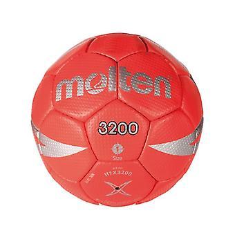Bal voor Handbal Gesmolten H1X3200 Rood Kunstleer (Maat 1)