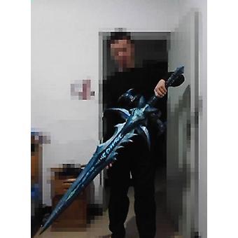 3d Paper Model Lich King Arthas Sword Weapon