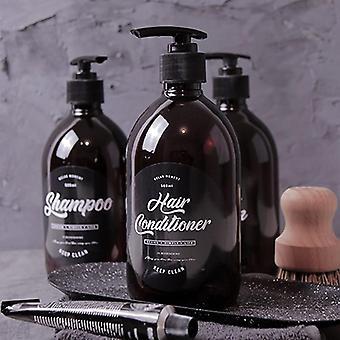 Soap Dispense  Brown Bathroom Shower