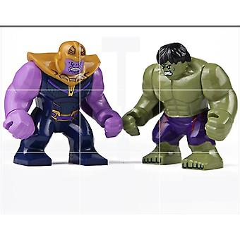 Disney Marvel Avengers -hahmo Hulk Spiderman Diy Building Blocks