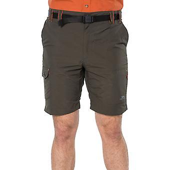 Trespass Herren Rathkenny Casual Outdoor Walking Wandern Cargo Shorts - Olive