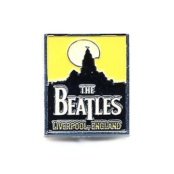 Beatles Liverpool skyline band logotyp ny Officiell Metal Pin badge