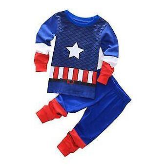 ملابس نوم الأطفال إنفانتيل - مجموعة بيجاما الطفل القطن