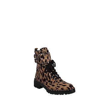 Sam Edelman | Jennifer Studded Leopard Print  Combat Boots