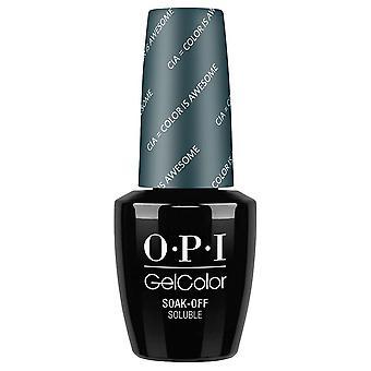 OPI GelColor Gel Polonais Washington DC Collection - CIA = Color Is Awesome