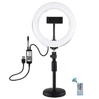 7.9 Inch Curved Surface RGBW Ring Light