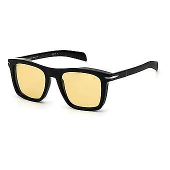 David Beckham DB7000/S 807/UK Gafas de sol negras/amarillas