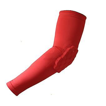 SPORX Kniepolster Kompression Bein Ärmel 1 Stück-Rot