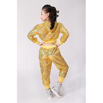 Kids Hip Hop Modern Jazz And Ballroom Outfits Hoodie + Pants