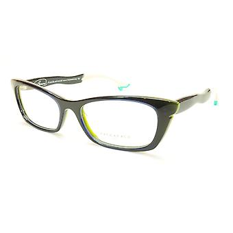Face A Face Bocca Sixties 5 Col 2030 Blue Olive Jean Eyeglasses Italy