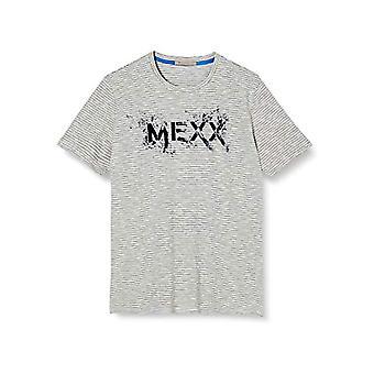 Mexx T-Shirt, Blue Striped, M Men's