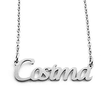KL Kigu Cosima - Women's necklace with name, in silver