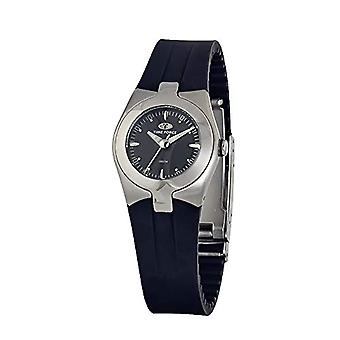 Time Force Analog Quartz Watch Woman with Rubber Strap TF2515L-01