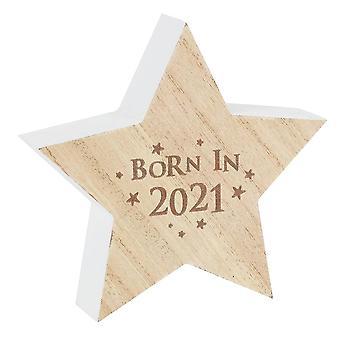 Algo Especial Nascido em 2021, ornamento estelar