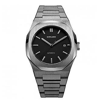 D1 milano automatic bracelet watch gun metal d1-atbj02