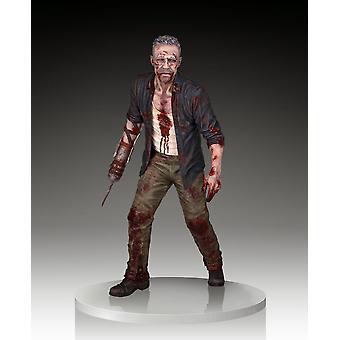 Merle Dixon Walker Polystone Statue from The Walking Dead