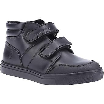 Hush Puppies Jongens Seth Lederen School schoenen