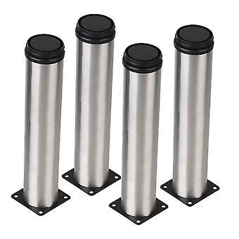 Per 4 pezzi mobili in acciaio inossidabile piedi gamba piedi regolabile 50 * 250mm WS776