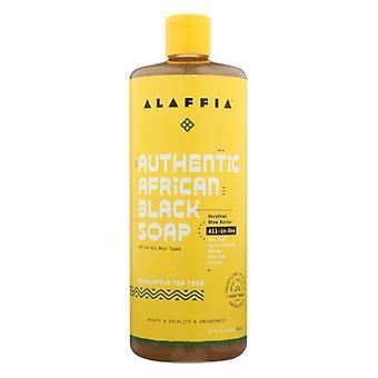 Alaffia Black Soap Eucalyptus Tea Tree, 32 Oz