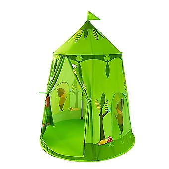 Kids Playing Foldable Tent Indoor Toy Small Ocean Ball Pool Kids Tent House Green