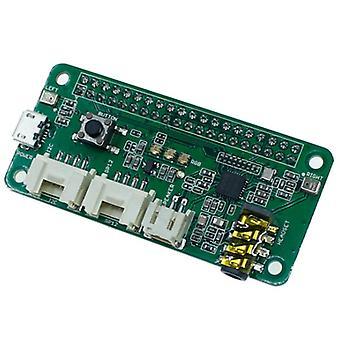 Respeaker 2-mics pi hattu vadelma pi 4 malli b äänimoduuli dual mikrofonijärjestelmä vadelma pi nolla 3b
