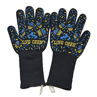 Bbq Grilling Cooking Gloves Extreme Heat Resistant Oven Welding Gloves