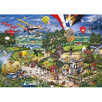 Gibsons I Love The Country Jigsaw Puzzle (1000 pezzi)