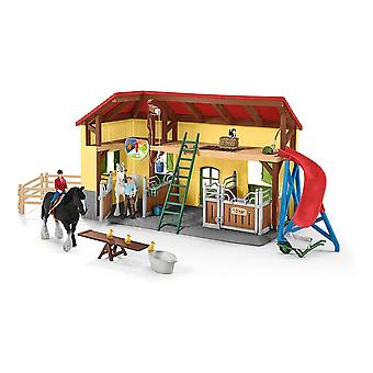 Boerderij Wereld Kinderpaardenstal met Accessoires Speelgoed Speelset