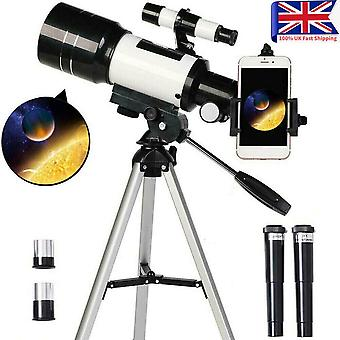 150X Astronomical Telescope F30070 Zoom HD Outdoor Monocular With Tripod 70mm UK