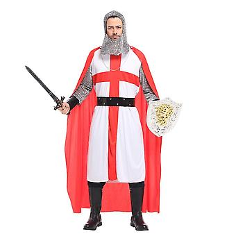 Snailify Halloween Costume For Adult Men Knight Costume Man Crusader Cosplay Royal Medieval Cosplay