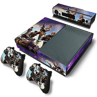 Xbox One konzol és kontrollerek bőr matrica - Fortnite