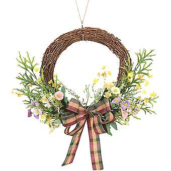 Etuoven kevätseppele, Auringonkukka antler Lehti puoliseppele, Hääjuhlan seinä