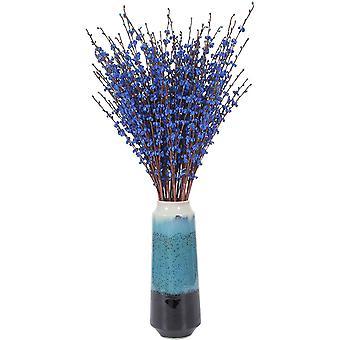 5 חתיכות של זר גבעול ארוך פרחים מלאכותיים קישוט הסלון הביתי