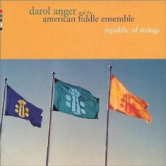 Edson raiva & o americano Ensemle Fiddle - República de cordas [CD] EUA importar