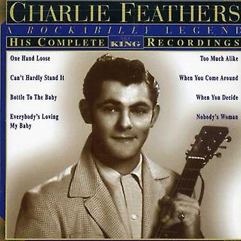 Plumes de Charlie - Charlie Feathers: Importation USA Complete Recordings King [CD]
