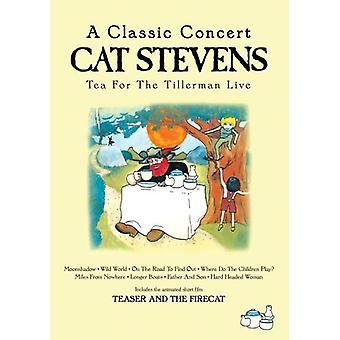 Cat Stevens - Tea for the Tillerman Live [DVD] USA import