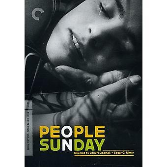 People on Sunday [DVD] USA import