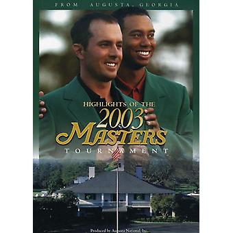 Masters 2003-Tournament Highlights [DVD] USA import