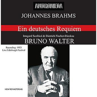 J. Brahms - importación de Estados Unidos Ein Deutsches Requiem Op.45 [CD]