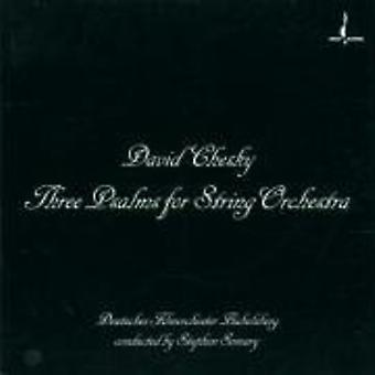 D. Chesky - David Chesky: Three Psalms for String Orchestra [CD] USA import