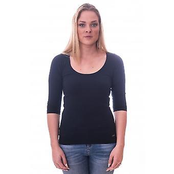 Alan Red Women T-shirt Romy Navy ( art 1092)