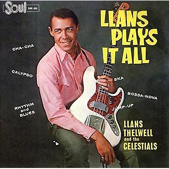 Thelwell, Llans / His Celestials - Llans Plays It All [CD] USA import