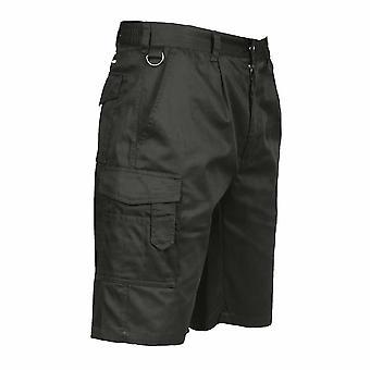 sUw Herren Outdoor Arbeitskleidung Elastische Durable Cargo Combat Shorts