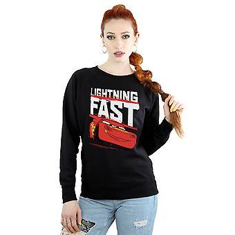 Disney Women's Cars Lightning Fast Sweatshirt